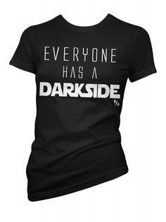 Pinky Star Women's Everyone Has T-Shirt - Black