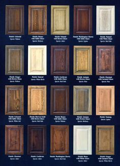 different types of wood - Google Search Staining Cabinets Wood Kitchen Cabinets Kitchen Cabinet & Kitchen Cabinets Color Selection | Cabinet Colors Choices | 3 Day ...