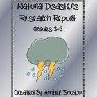 This 29 page Natural Disasters Research Report can be implemented during Literacy Centers before, during or after a study of natural disasters. Thi...