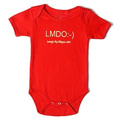 Laughing My Diaper Off - 20 Inappropriate Onesies for Babies (no whining, I told you in advance they are inappropriate, so don't act all offended.)