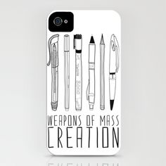weapons of mass creation iPhone Case by Bianca Green -$35.00