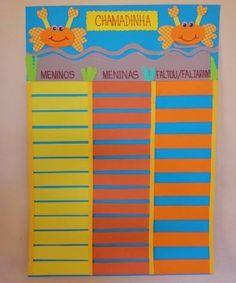 Mapa de Presenças Organization, Maps, School, Instruments, Getting Organized, Organisation, Staying Organized