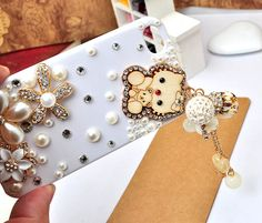 handmade hello kitty tassel cell phone cases white cover for iphone 4 4s,for samsung galaxy s2 s3 s4,for htc one x v s vivida m7 $12.99