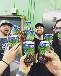 The first cans are off the line. Cheers to Terrapin's newest year round beer. #soundczech #pils #freshbeer #drinkcraft