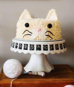 Casinha da Sophia: Festa de aniversário para uma gatinha fofa