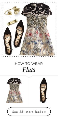 """""""Embroidered Dress"""" by cherieaustin on Polyvore featuring moda, Chanel, River Island, Valentino, valentino y RiverIsland"""