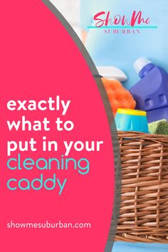 I used these 12 cleaning essentials to diy my own cleaning caddy. These ideas for double-duty products make cleaning faster and more efficient! Cleaning supply organization is so much easier! I love these tips on what to put in my cleaning basket. Cleaning Caddy, Cleaning Checklist, Cleaning Hacks, Cleaning Supplies, Refrigerator Organization, Laundry Room Organization, Storage Organization, Storage Tubs, Storage Spaces
