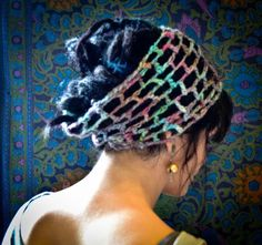 LUCKY YOU custom crochet weave dread wrap hair wrap made by RDRU, $36.00