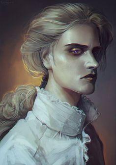 Vampire by LoranDeSore.deviantart.com on @DeviantArt