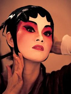 Chinese Opera Female Makeup