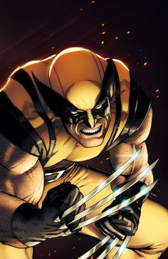 You talking to me bub. Wolverine Art, Logan Wolverine, Comic Art, Comic Books Art, Superhero Villains, Marvel Characters, Marvel Comics Art, Marvel Heroes, X Men