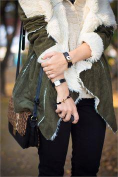 63e3b3a0a8d3d khaki and cheques Stiles, Love Fashion, Fashion 2014, Winter Fashion, Khaki  Green