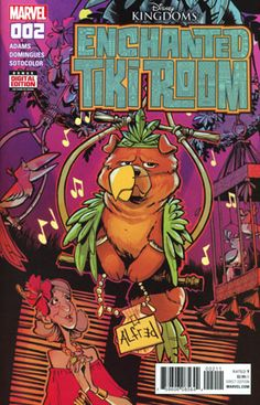 Enchanted Tiki Room #2 shows us quickly that there is trouble in paradise. Agnes may no longer wish her dog Alfred can talk, seeing as h...