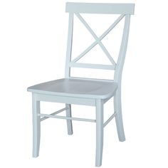 Lillian Cross Back Side Chair