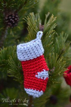 Crochet along - Stocking advent calendar - Day 6