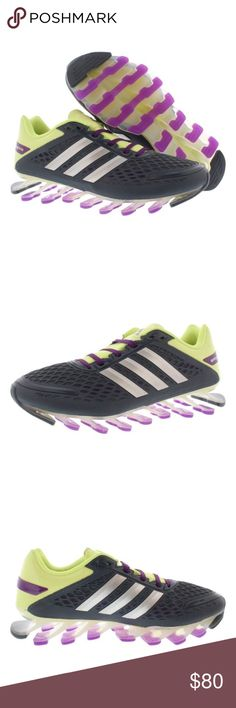 Adidas *  Synthetic and Mesh * Rubber sole *Breathable mesh upper *Comfortable textile lining adidas Shoes Athletic Shoes