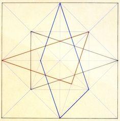 vjeranski: Thomas Flake, geometrical exploration of a square, Bauhaus Vorkurs. 49.190000 -122.811000