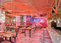 Restaurant Interior Capella Garcia Arquitectura have recently completed the design of China Chilcano by José Andrés, a restaurant in Washington, D.C.,