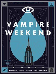 Vampire Weekend - UK 2013 - Aaron Gresham