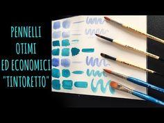 PENNELLI linee ECONOMICHE Tintoretto e GIVEAWAY! (Recensione materiali)Arte per Te - YouTube