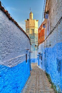 #Chefchaoun Street, Morocco