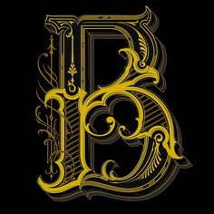 3 color versions for a letter B, which looks the best? Creative Lettering, Graffiti Lettering, Lettering Design, Lettering Tutorial, Tattoo Lettering Styles, Types Of Lettering, B Letter Design, Tattoo Fonts Alphabet, Ornament Drawing
