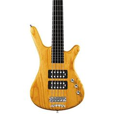 Warwick Corvette Rockbass $$ Bass Guitar (5 String, Oil Finish, Honey Violin) ** Check this awesome product by going to the link at the image.
