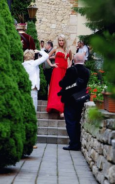 red dress by Carolina Dudrova