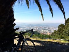 View of Braga, Portugal while biking around Bom Jesus. You can enjoy this view with a coffee or another beverage and just relax :-) Portugal Travel, Just Relax, Biking, Beverage, Grand Canyon, Mountains, Canning, Coffee, Instagram