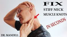 Here is a great technique that can wipe out your neck pain in seconds. While stretching the contracted muscles, you will perform cross-fiber stretching at th. Neck Exercises, Neck Stretches, Knots In Neck Muscle, Sore Neck Muscles, Neck Spasms, Stiff Neck Relief, Neck Massage, Massage Envy, Foot Massage