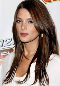 Gallery of Long <b>Brunette</b> <b>Hairstyles</b> for Women and Girl