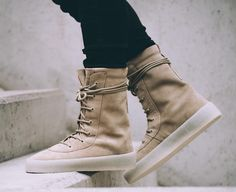 An On-Feet Look At The Upcoming Yeezy Season 2 Crepe Boot