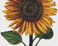 Sunflower - Counted Cross Stitch KIT