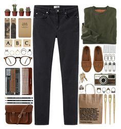 """Vaults - Premonitions"" by annaclaraalvez ❤ liked on Polyvore featuring Acne Studios, The Cambridge Satchel Company, Zara, Tim Holtz, BOBBY, Clips, Oliver Peoples, (MALIN+GOETZ), COSTUME NATIONAL and Pull&Bear"