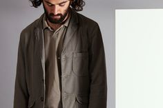 Barra Jacket In Fine Texture Cotton - Vacation Polo In Piquet