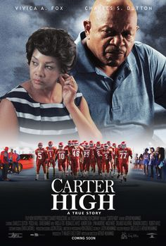 """""""Carter High"""" movie poster, 2015. PLOT: During the 1980s, Carter High School in Dallas, TX was a football powerhouse. This is the story of four of the student athletes whose off the field activities cost them their future. 2015 Movies, New Movies, Movies To Watch, Good Movies, Streaming Vf, Streaming Movies, Hollywood Movies Online, Free Hd Movies Online, Image Internet"""