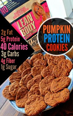 Protein pumpkin cookie