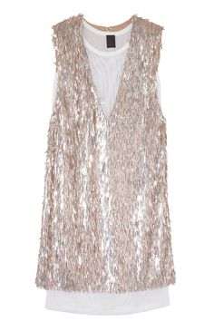 Wish List: Vera Wang Sporty Sequined Mesh Dress - The Cut