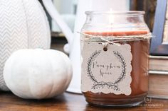 THE BEST FALL CANDLE