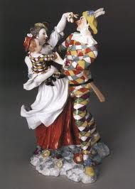 Image result for collection of porcelain harlequins at the Met