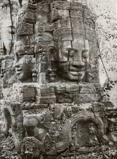 """""""Near and far, outside and inside, like the surfaces of a nautilus, will be reversible terms for a sense of hidden treasure"""" • Cambodian architecture and sculpture • Christopher Middleton"""