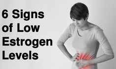 Estrogen is one of two vitally important hormones in a woman's body. Here are 6 signs you have low estrogen levels (and how to increase them)...