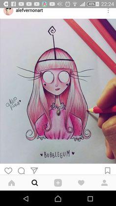 Dark Drawings, Amazing Drawings, Cartoon Drawings, Amazing Art, Tim Burton Art Style, Arte Tim Burton, Tim Burton Drawings, Character Art, Character Design