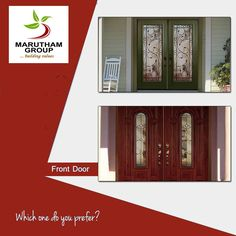 Which door do you think will enhance your home's architecture? Choose