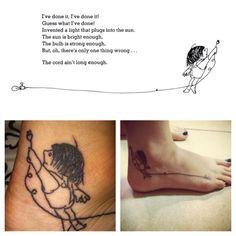 Shel silverstein tattoo