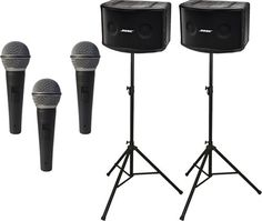 Bose Panaray 802 Series IV Loudspeaker Package with Ultimate Support Speaker Stands and Microphones >>> You can get additional details at the image link.