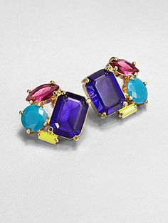 Kate Spade New York Faceted Cluster Earrings