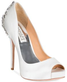 Badgley Mischka Kiara Platform Evening Pumps - Evening & Bridal - Shoes - Macy's