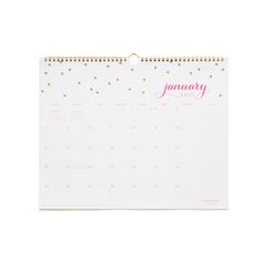 Sugarpaper Confetti Wall Calendar Available At Target  For The