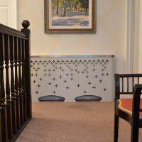 Laser radiator covers range - Modern radiator covers, window shutters and decorative laser cut panels